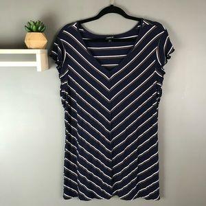 Torrid women's stripe tunic size 4